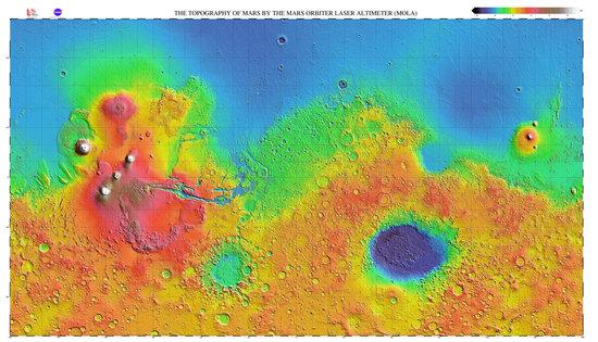 衝突で形成された水素大気と初期火星における生命圏の形成可能性